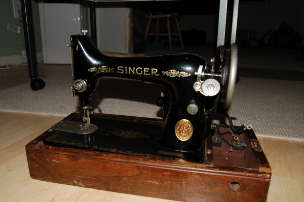 The Mini-Me of Singer 66, the Singer 99